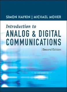 An Introduction to Analog and Digital Communications, 2nd