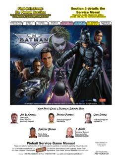 Batman Dark Knight Manual Batman Dark Knight Manual