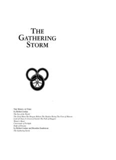 Wheel of Time 12 - The Gathering Storm - Robert Jordan.pdf