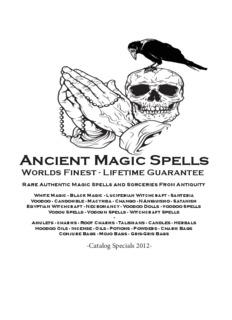 spell specials - Ancient Magic Spells