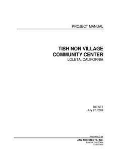 TISH NON VILLAGE COMMUNITY CENTER - The Danco Group