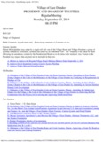 Village of East Dundee - Board Meeting Agenda - 09 - West Dundee