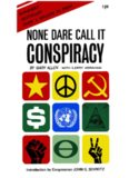 None Dare Call it Conspiracy – Gary Allen