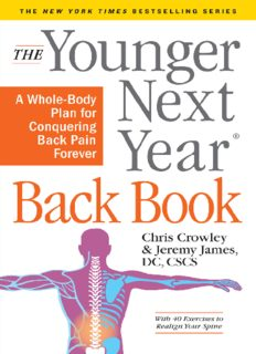 Younger Next Year Back Book: The Whole-Body Plan to Conquer Back Pain Forever