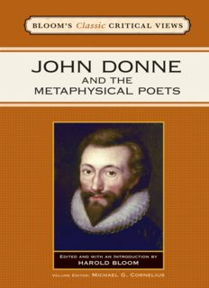 John Donne and the Metaphysical Poets (Bloom's Classic Critical Views)