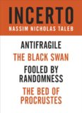 Incerto 4-book bundle : fooled by randomness the black swan the bed of procrustes antifragile