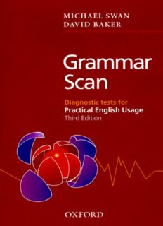 Grammar Scan: Diagnostic Tests for Practical English Usage
