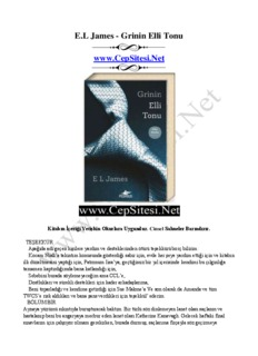 E.L James - Grinin Elli Tonu www.CepSitesi