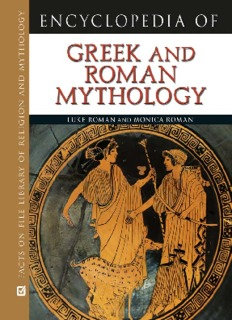 Encyclopedia of Greek and Roman Mythology