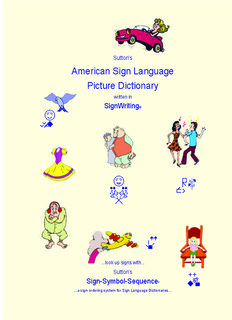 Sutton's American Sign Language Picture Dictionary 2006