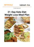 21-Day Keto Diet Weight Loss Meal Plan