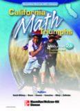 California Math Triumphs VOL 2A FRACTIONS (CALIFORNIA MATH TRIUMPHS VOL 2A)