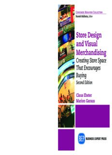 Store design and visual merchandising : creating store space that encourages buying