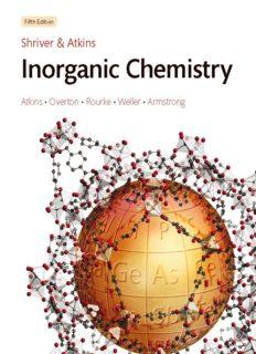 Shriver and Atkins' Inorganic Chemistry, 5th Edition