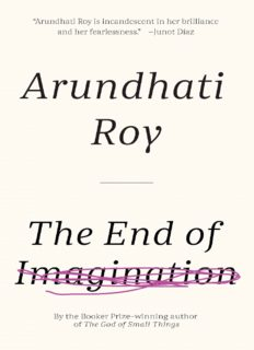 The End of Imagination (The Cost of Living, Power Politics, War Talk, Public Power in the Age of Empire, and An Ordinary Person's Guide to Empire)
