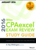Wiley CPAexcel Exam Review 2016 Study Financial Accounting and Reporting