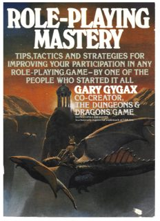 Gary Gygax's - Role-Playing Mastery.pdf