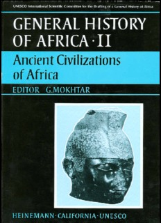 General history of Africa, II: Ancient civilizations of Africa