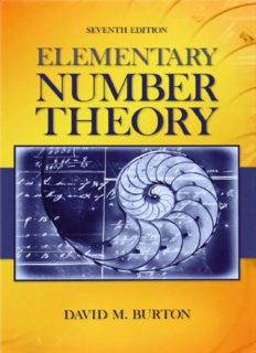 Elementary Number Theory (7th ed.) by David M. Burton