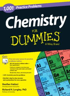 1001 Practice Problems Chemistry for Dummies