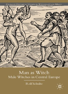 Man as Witch: Male Witches in Central Europe