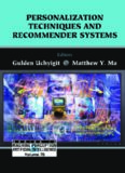 Personalization Techniques And Recommender Systems (Series in Machine Perception and Artificial Intelligence ???) (Series in Machine Perception and Artificial ... Perception and Artifical Intelligence)