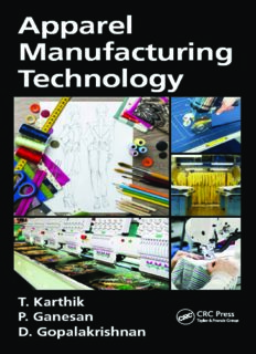 Apparel manufacturing technology