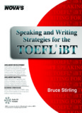 Speaking and Writing Strategies for the TOEFL iBT - toefl-kevin.com