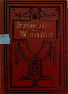 Letters on demonology and witchcraft, addressed to J.G. Lockhart, Esq