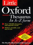 The Oxford Thesaurus - An A-Z Dictionary Of Synonyms