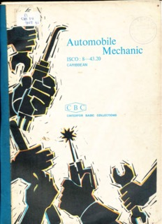 Automobile Mechanic - OIT/Cinterfor