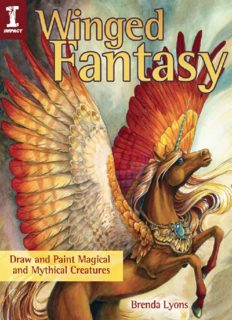 Winged fantasy : draw and paint magical and mythical creatures