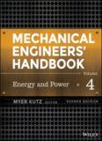 Mechanical Engineers' Handbook. Vol. 4 Energy and Power