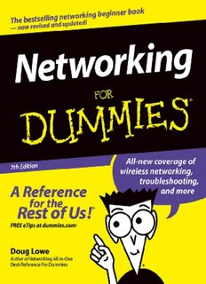 Networking for Dummies--For Dummies; 7th Ed.