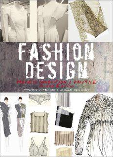 Fashion design : process, innovation & practice