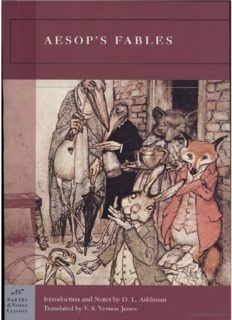 Aesop's Fables Illustrated (Barnes & Noble Classics)