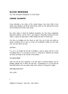 Cormac Mccarthy - Blood Meridian.hwp - Webspace