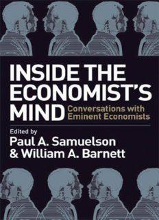 Inside the Economist's Mind.. Conversations with Eminent Economists