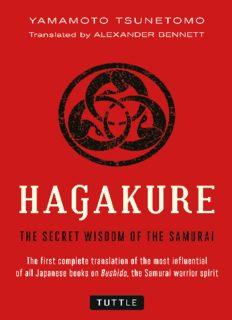 Hagakure : the secret wisdom of the samurai