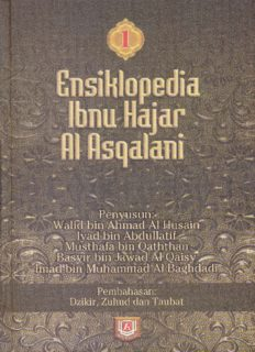 Ensiklopedi Ibnu Hajar Al Asqalani 1