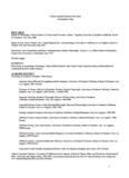 velina hasu houston, full curriculum vitae 2014