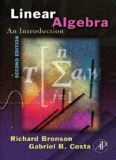 Linear Algebra: An Introduction, Second Edition
