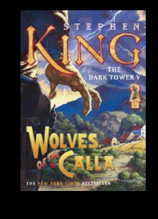 The Dark Tower 5 - The Wolves of the Calla