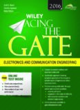 Wiley Acing the GATE Examination For Electronics and Communication Engineering