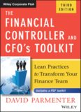 The Financial Controller and CFO's Toolkit: Lean Practices to Transform Your Finance Team