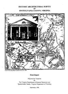 Historic Architectural Survey