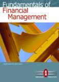 Fundamentals of Financial Management, 13th ed.