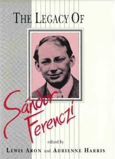 The Legacy of Sándor Ferenczi