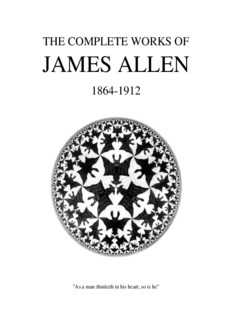 The Complete Works of James Allen
