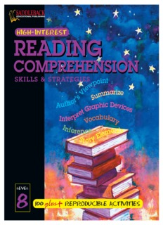 Reading Comprehension Skills & Strategies
